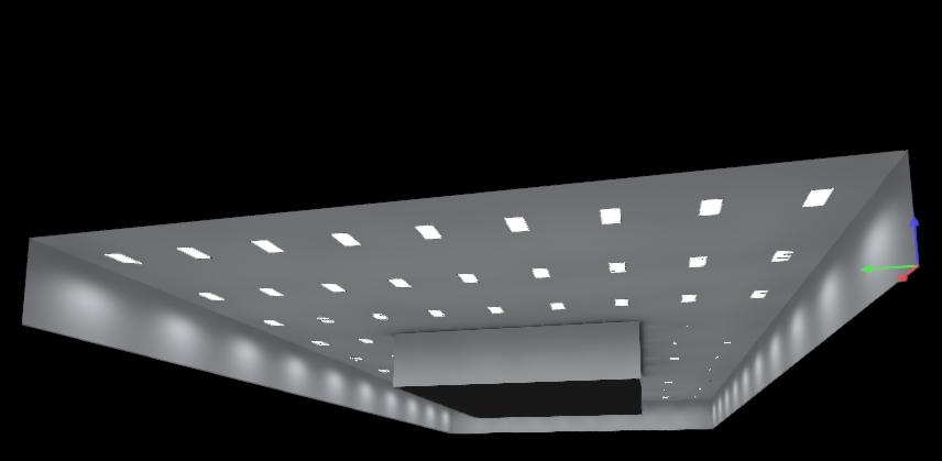 Modelado de sistemas de iluminación industrial y comercial