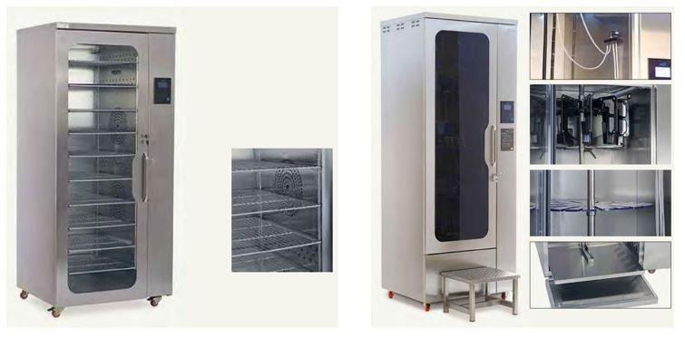 Cabinas de secado instrumental, cabinas de secado endoscopios