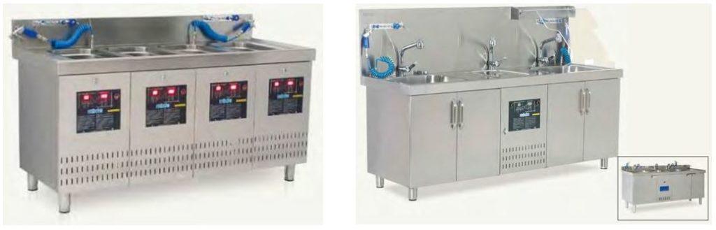 Estaciones de lavado ultrasonico