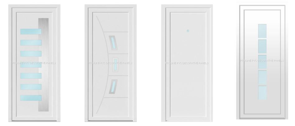 Puertas 100% PVC
