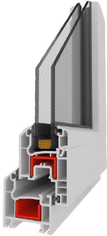 Ventanería en PVC, cámaras aislantes